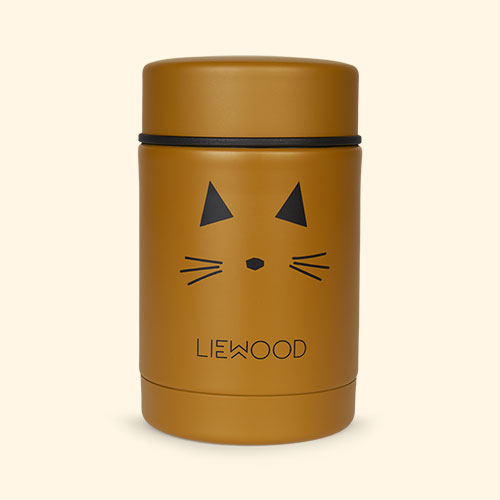 Cat Mustard Liewood Nadja Food Jar