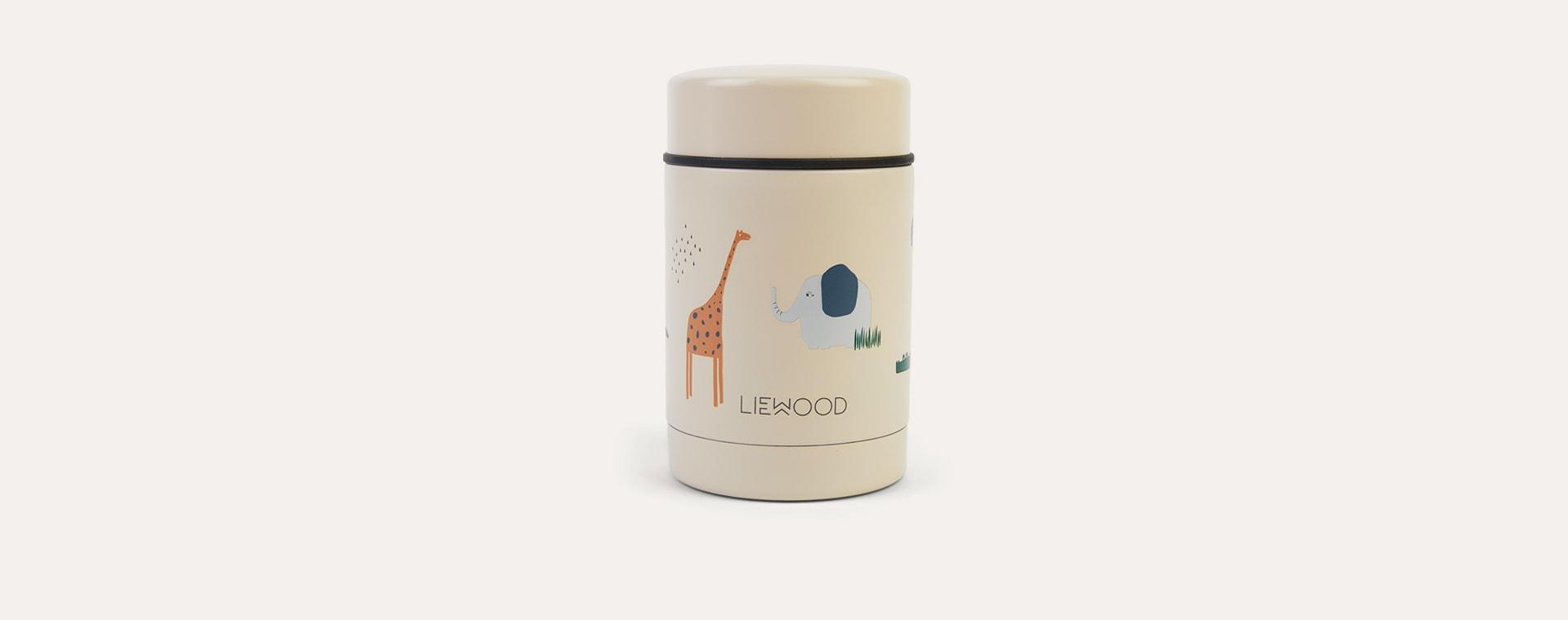 Safari Sandy Mix Liewood Nadja Food Jar