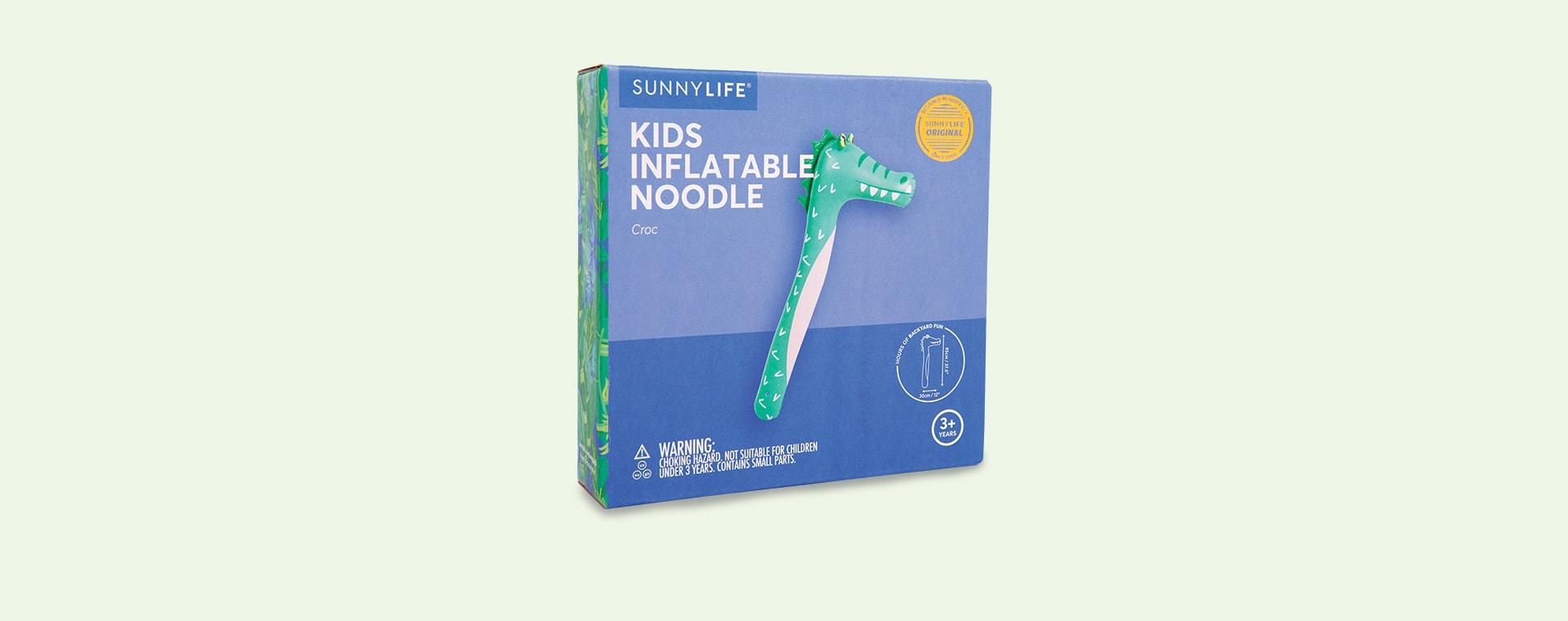 Crocodile Sunnylife Inflatable Noodle