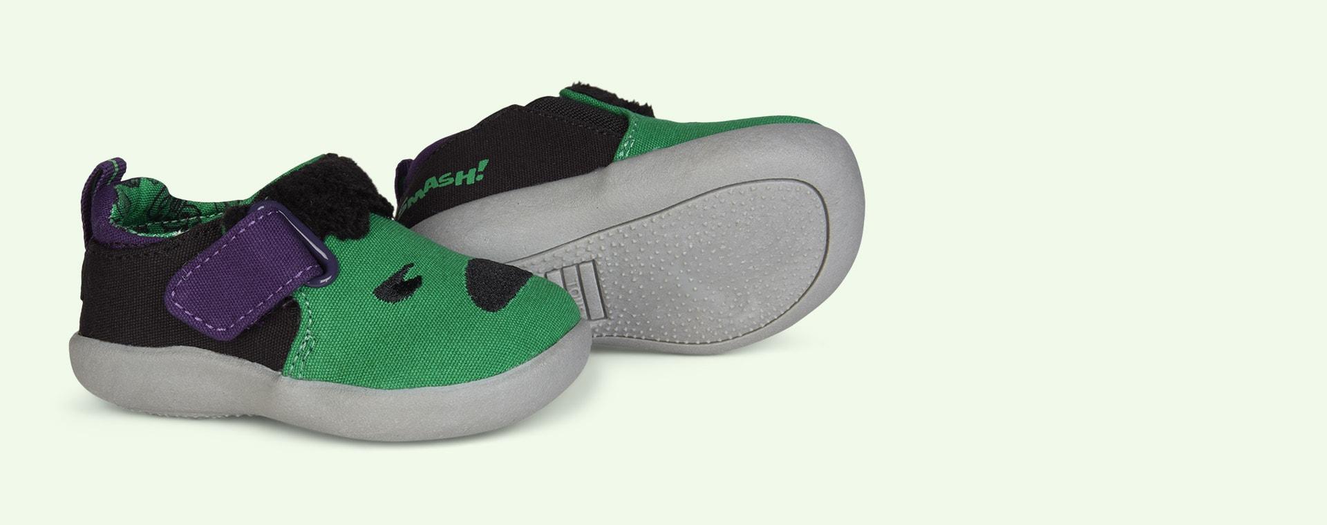 Green TOMS Marvel Hulk Embellished Whiley Sneaker