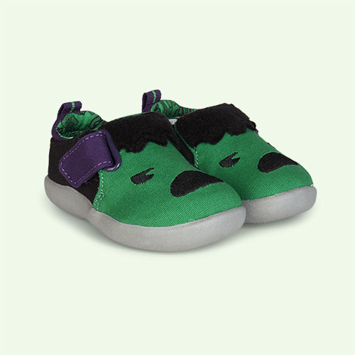 Green TOMS Marvel Hulk Embellished Whiley Sneaker