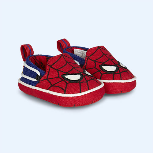 Red TOMS Marvel Spider Man Lima Layette