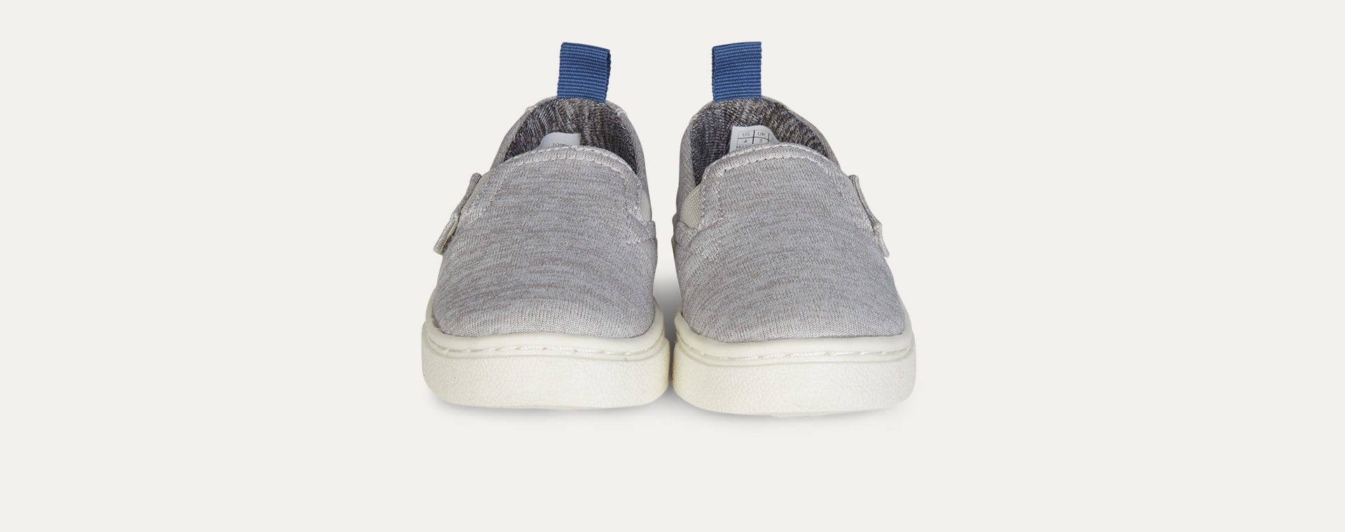 Grey TOMS Recycled Luca Slip On Shoe