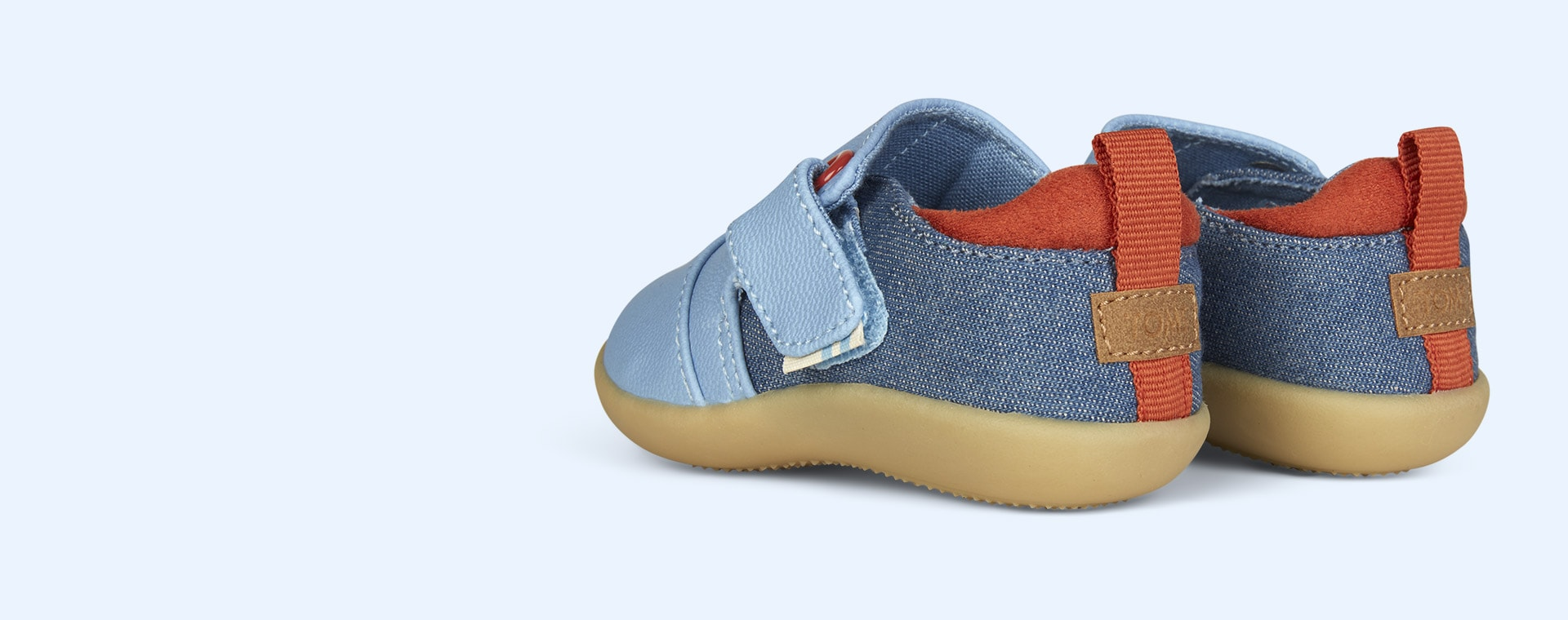 Blue TOMS Buckle Whiley Sneaker
