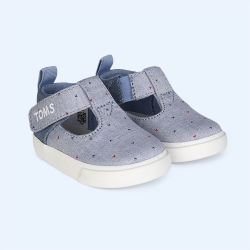 Blue TOMS Joon Early Walkers