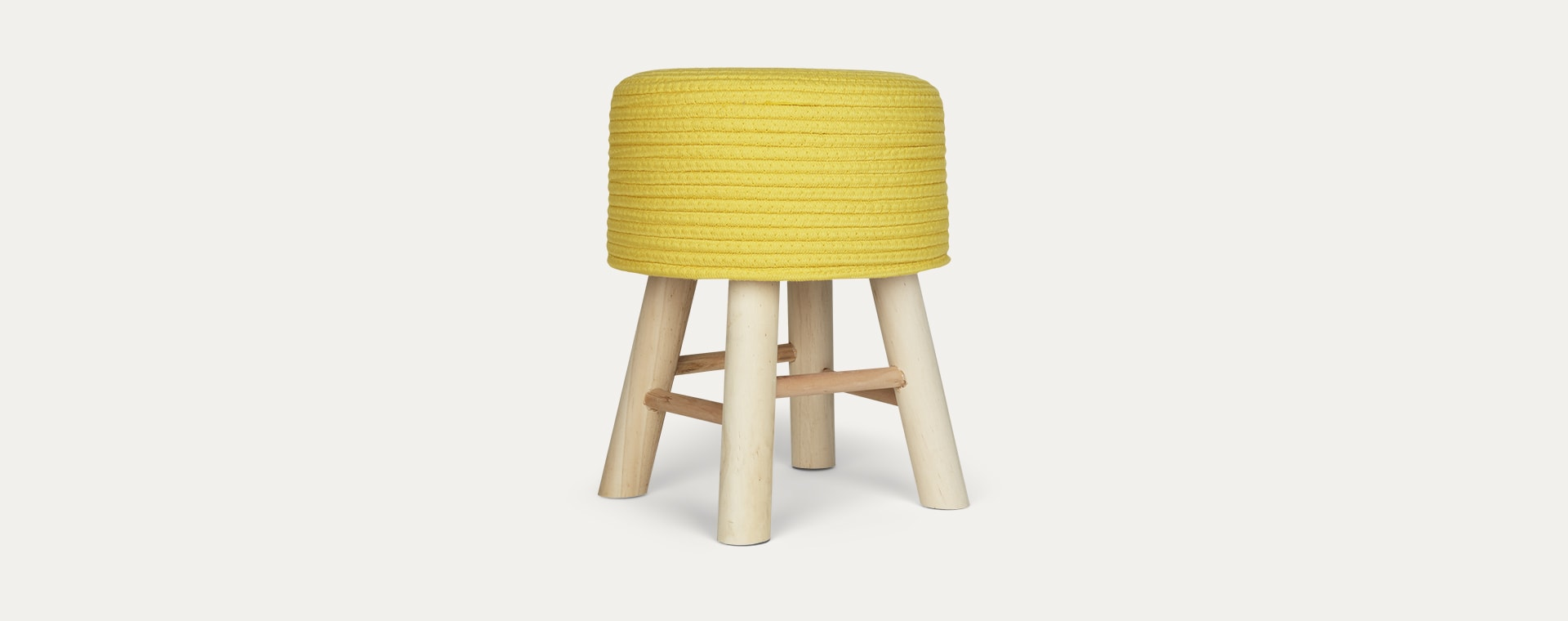 Yellow Kids Depot Iggy Stool