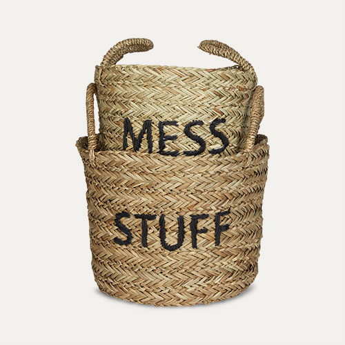 Black Kids Depot Mess/Stuff Storage Set