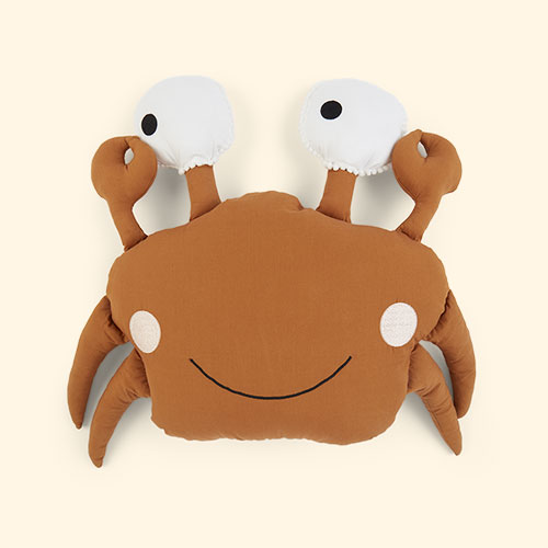 Orange Kids Depot Caro Crab Cushion