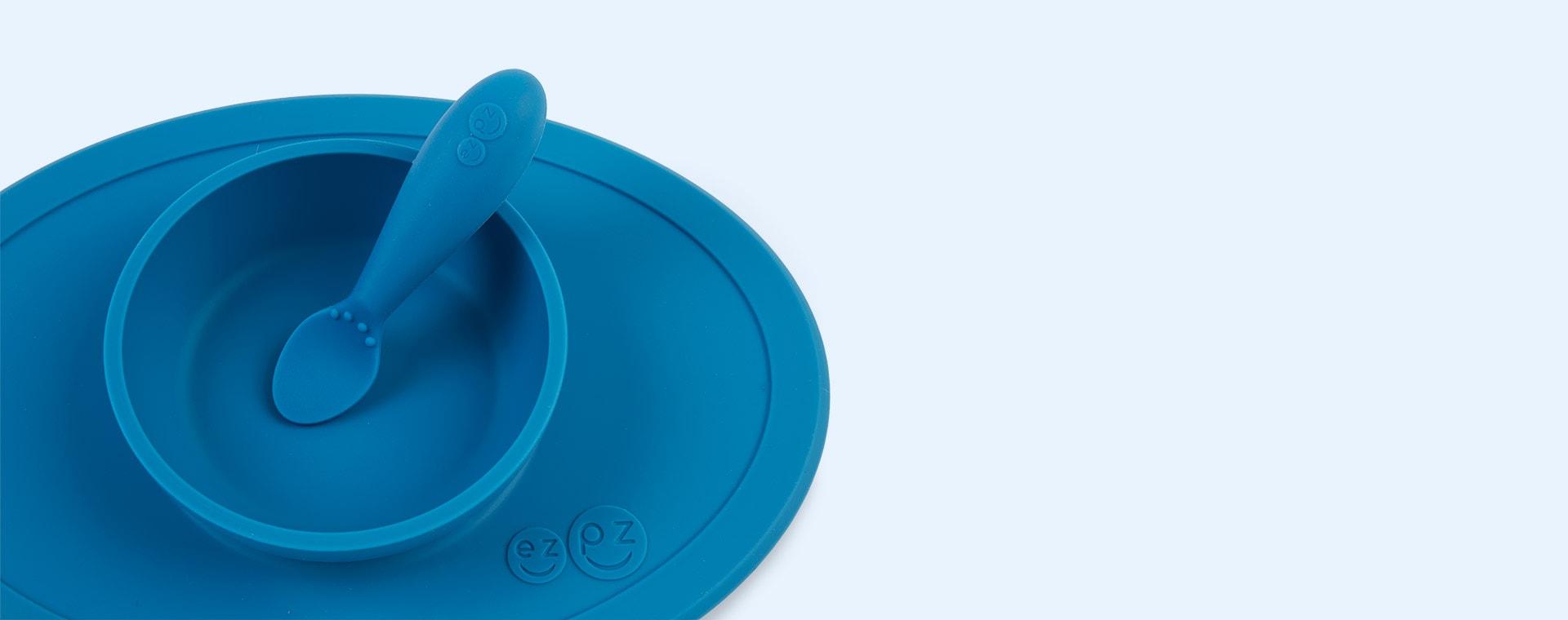 Blue EZPZ Tiny Spoon Twin Pack
