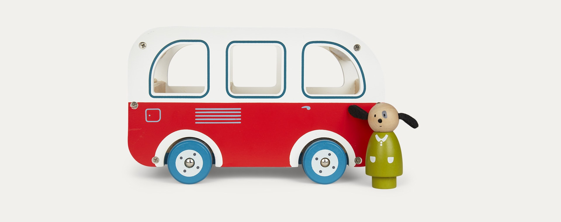 Multi Moulin Roty Wooden Bus