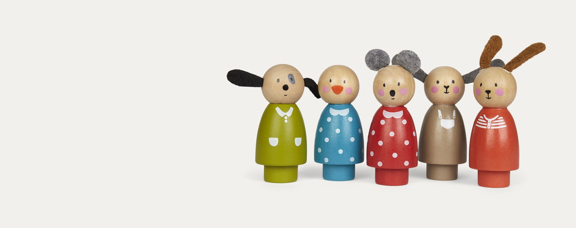 Multi Moulin Roty Set Of Five Characters