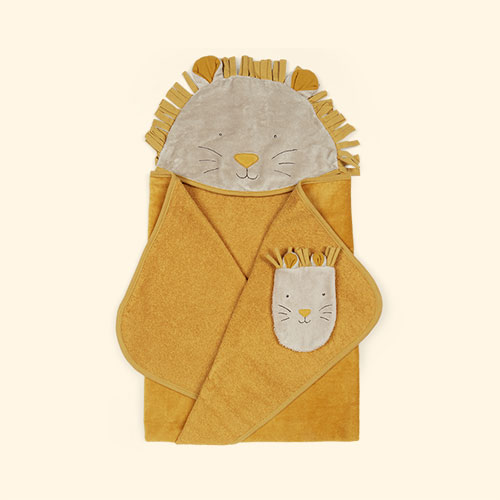 Multi Moulin Roty Hooded Towel Set