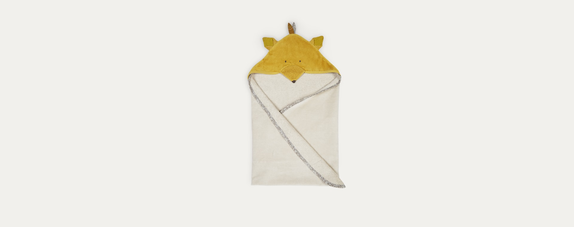 Fox Moulin Roty Hooded Towel