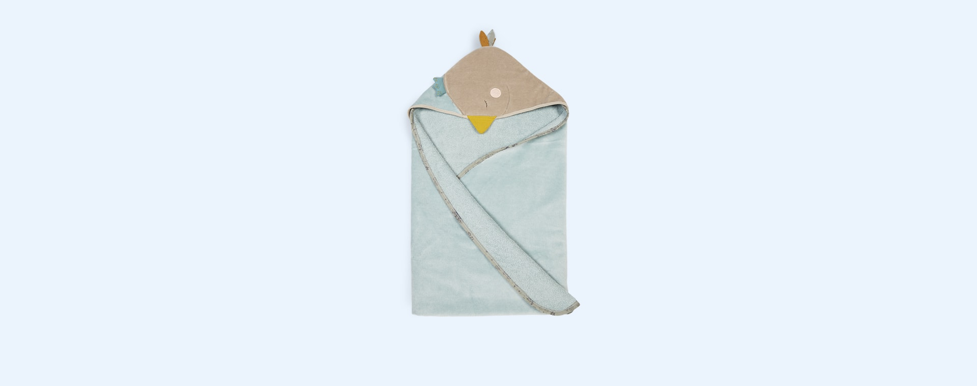 Goose Moulin Roty Hooded Towel