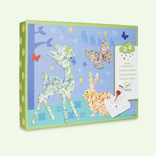 Multi Djeco Colourful Parade Marbling Kit
