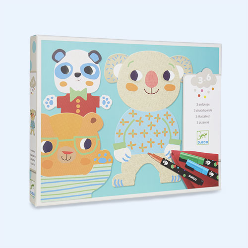 Multi Djeco Colouring Chalkboard - Cuties