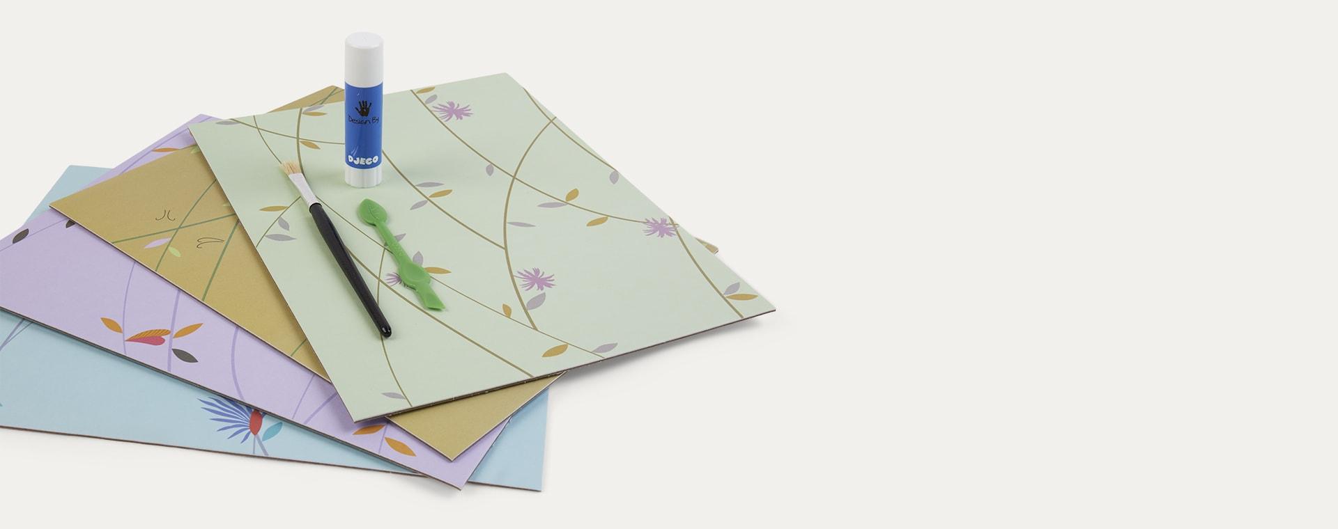 Multi Djeco Coloured Jungle Oil Pastel Kit