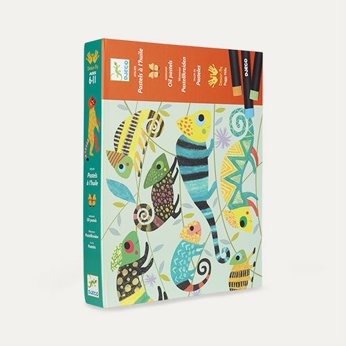 Multi Djeco Coloured Jungle Oil Pastel Kit