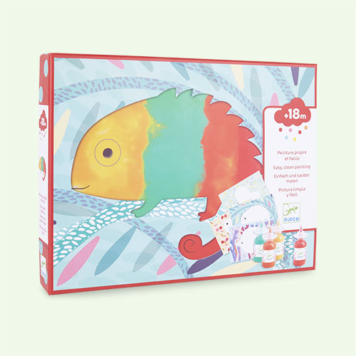 Multi Djeco Easy Clean Painting Set - Animals