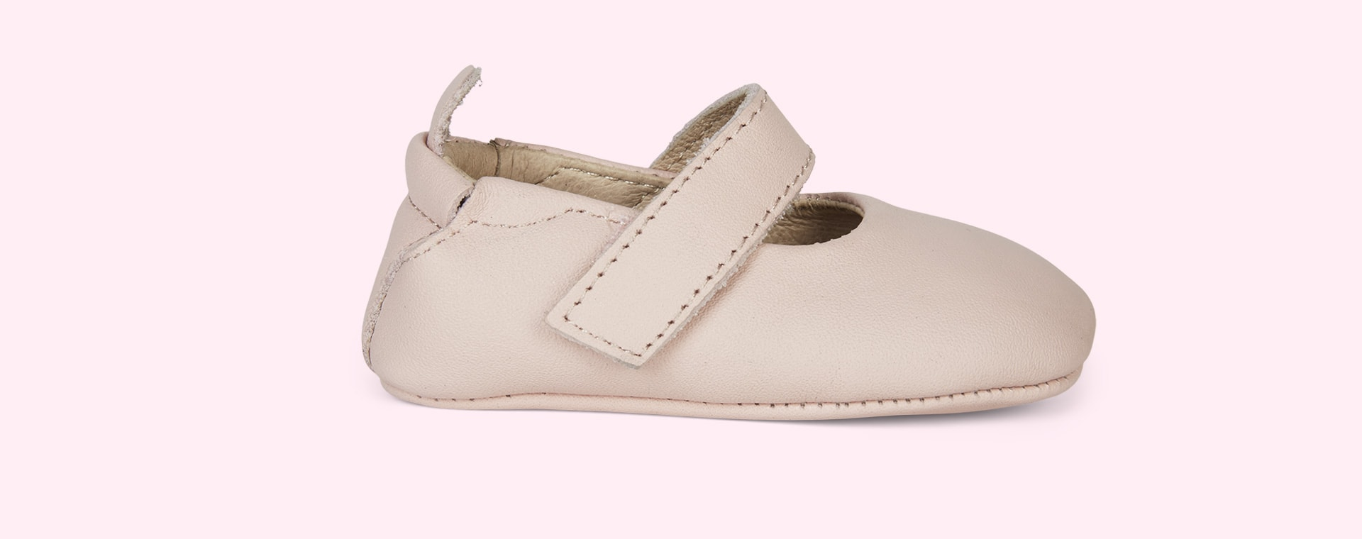 Powder Pink old soles Gabrielle Soft Sole Shoe