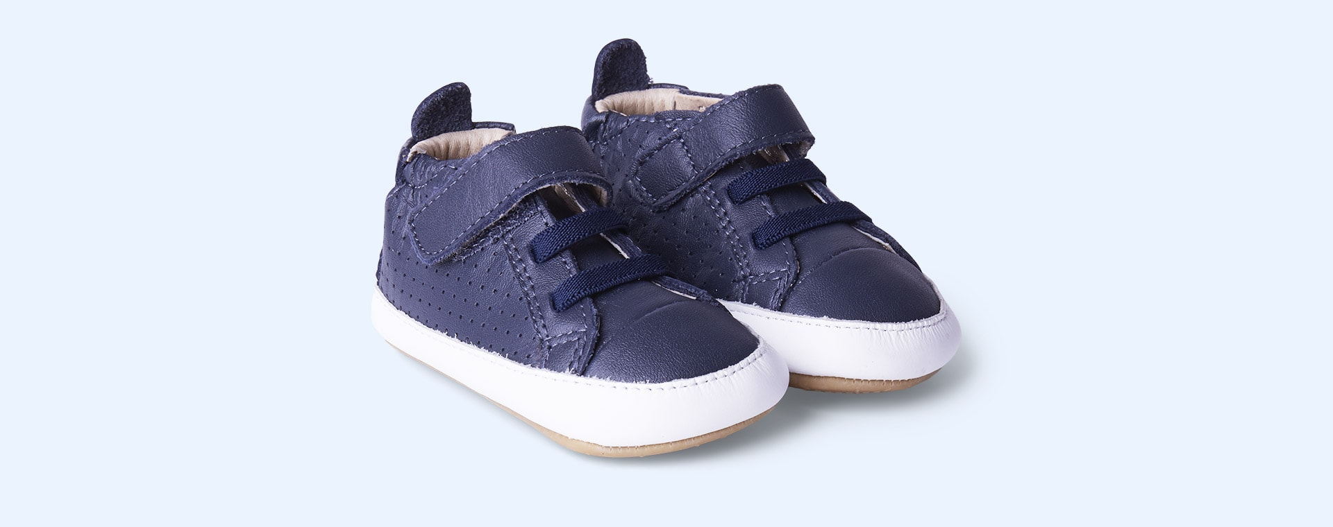 Navy old soles Cheer Bambini Soft Sole Boot