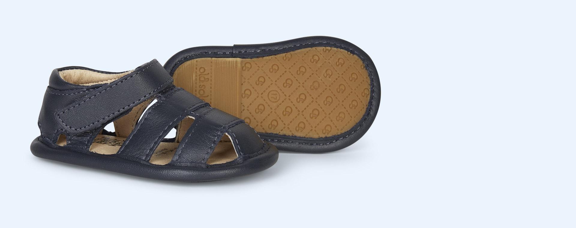 Navy old soles Sandy Soft Sole Sandal