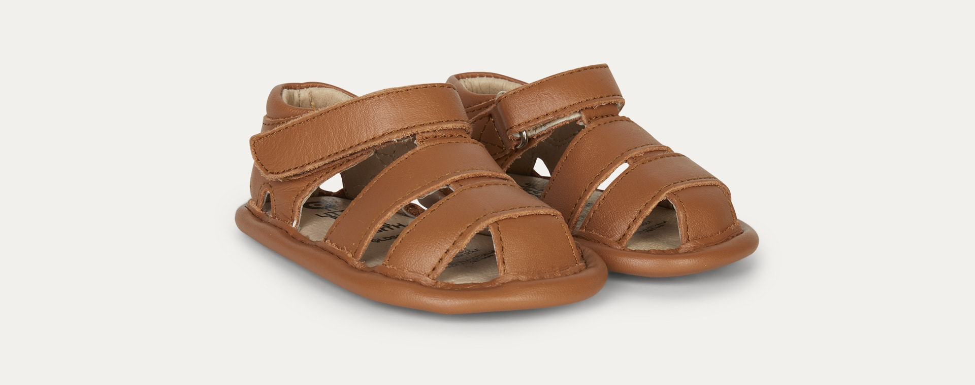 Tan old soles Sandy Soft Sole Sandal