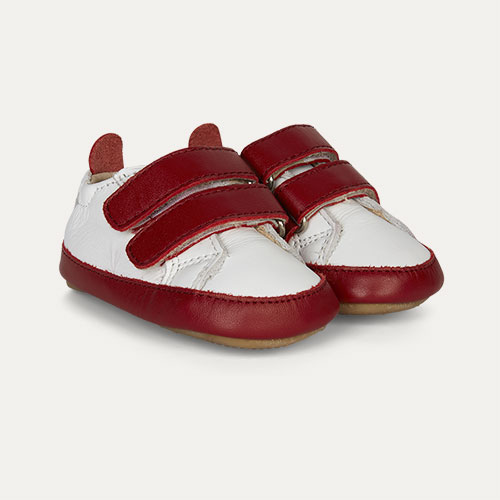Red old soles Eazy Market Soft sole Trainer