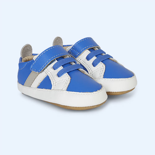 Blue old soles old soles Mini Jogger Soft Sole Trainer