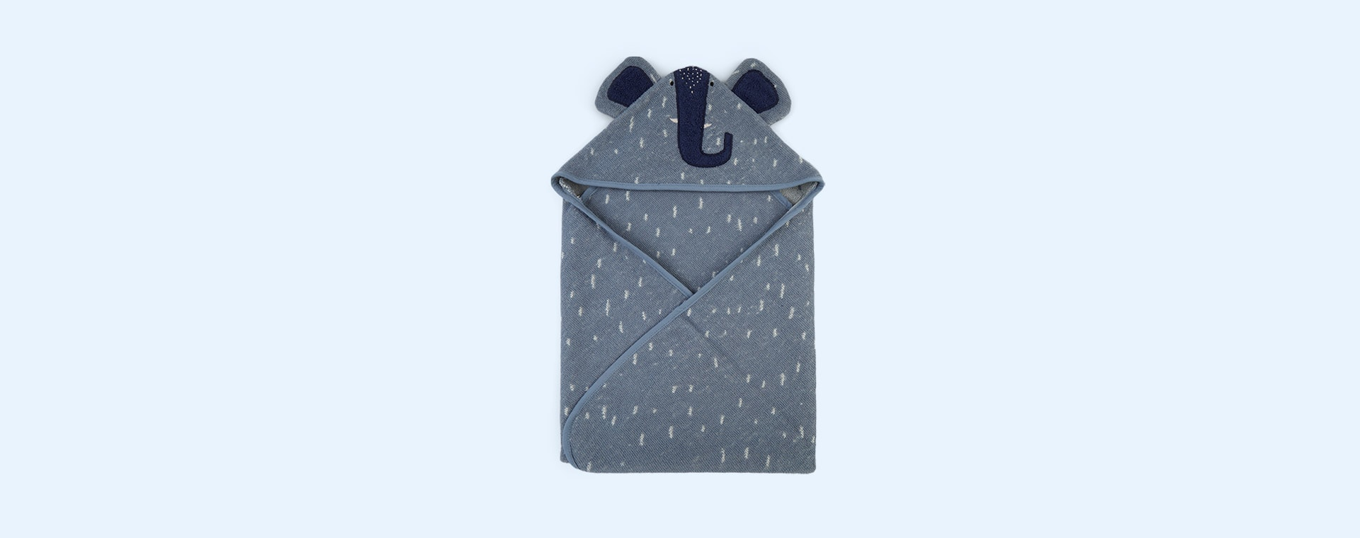 Mrs Elephant Trixie Hooded Towel