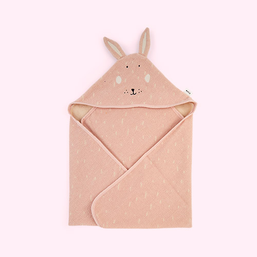 Mrs Rabbit Trixie Hooded Towel