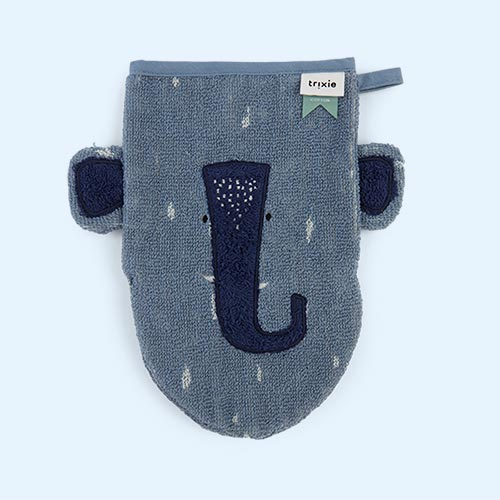 Mr Elephant Trixie Washcloth