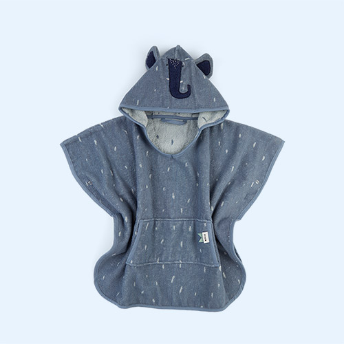 Mr Elephant Trixie Hooded Poncho Towel