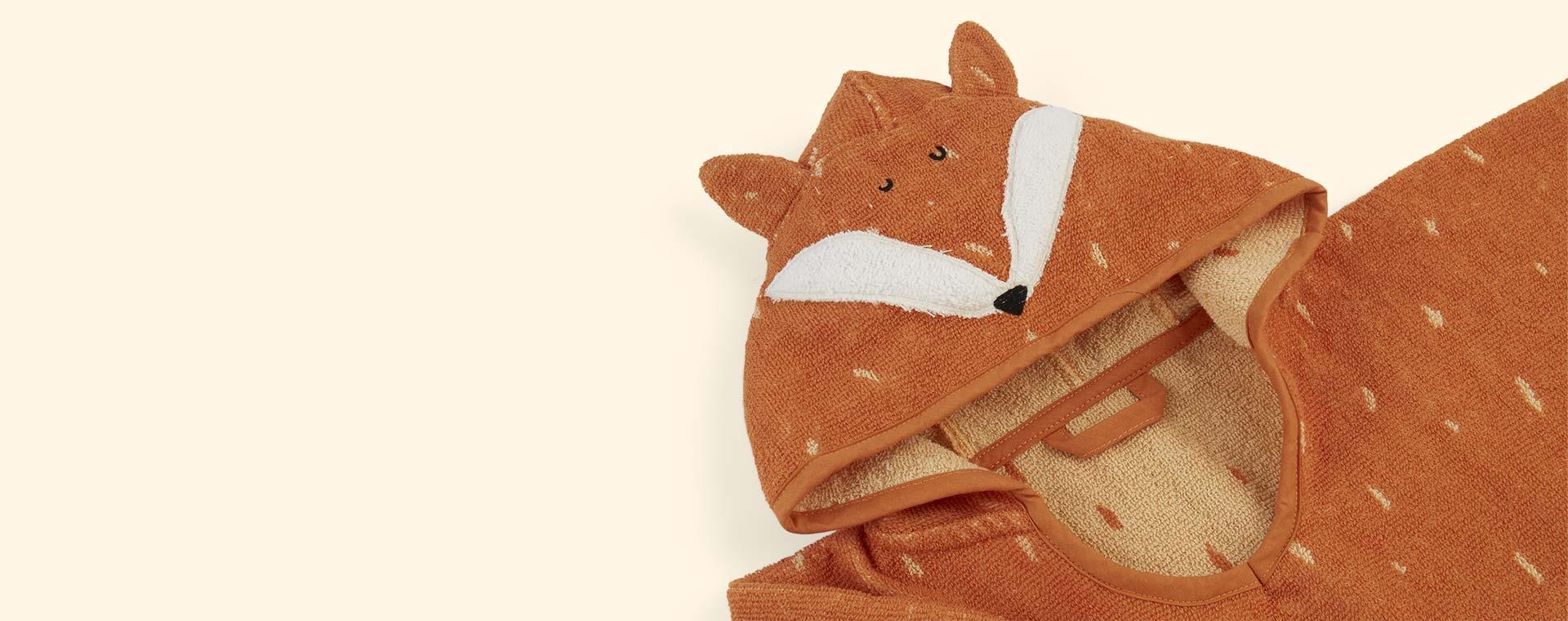 Fox Trixie Hooded Poncho Towel