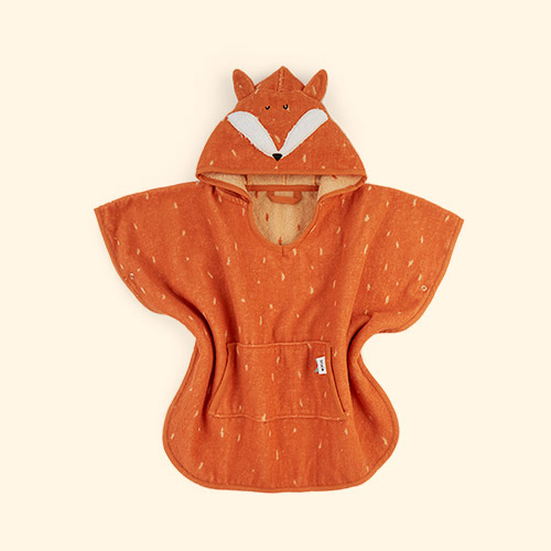 Fox Trixie Hooded Poncho Towel