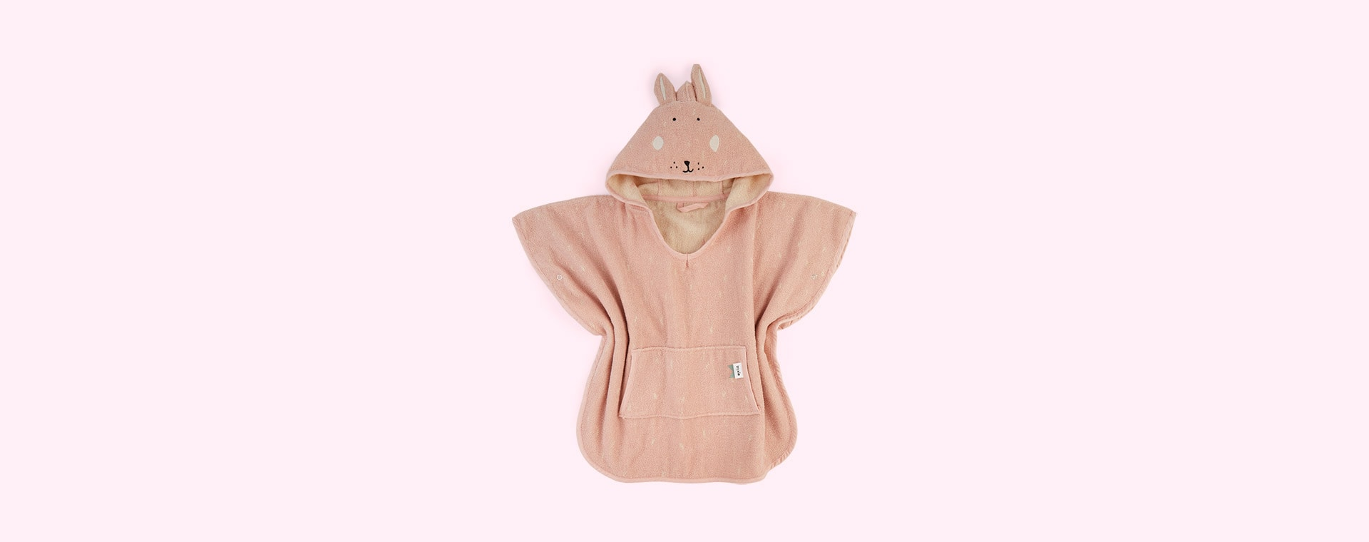 Mrs Rabbit Trixie Hooded Poncho Towel