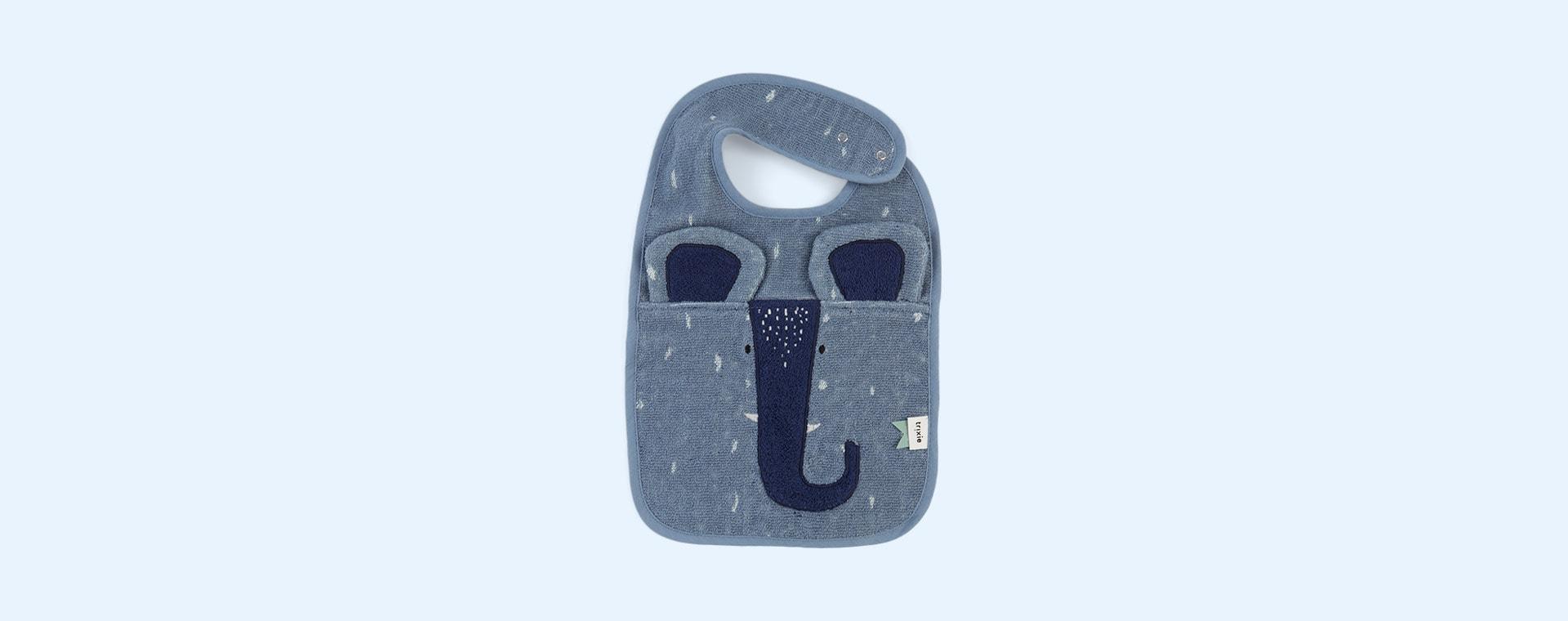 Mr Elephant Trixie Bib