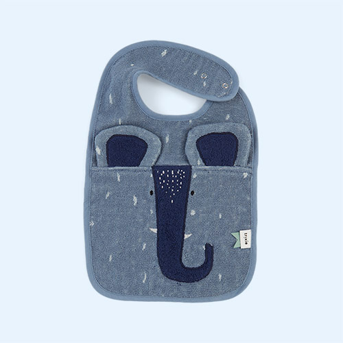 Mr Elephant Trixie Bib