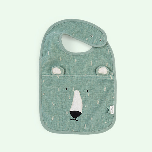 Mr Polar Bear Trixie Bib