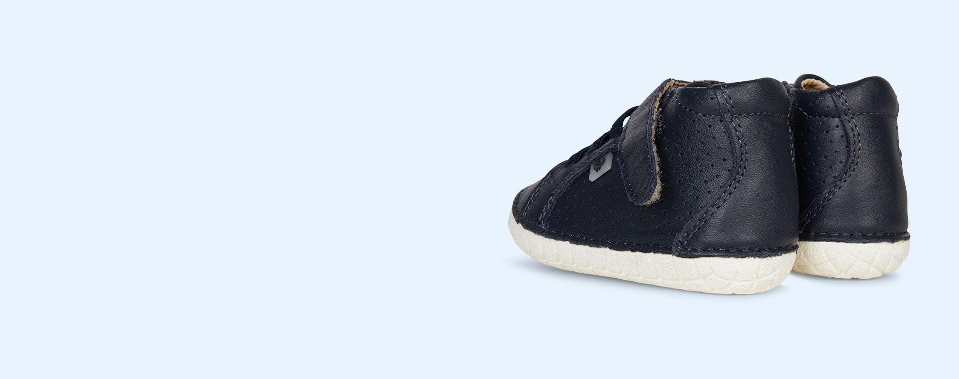 Navy old soles Cheer Pave First High Top Trainer