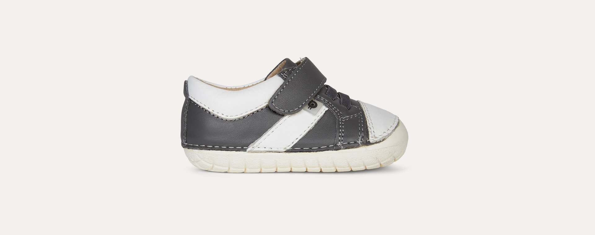 Grey old soles Ground Pave First Trainer
