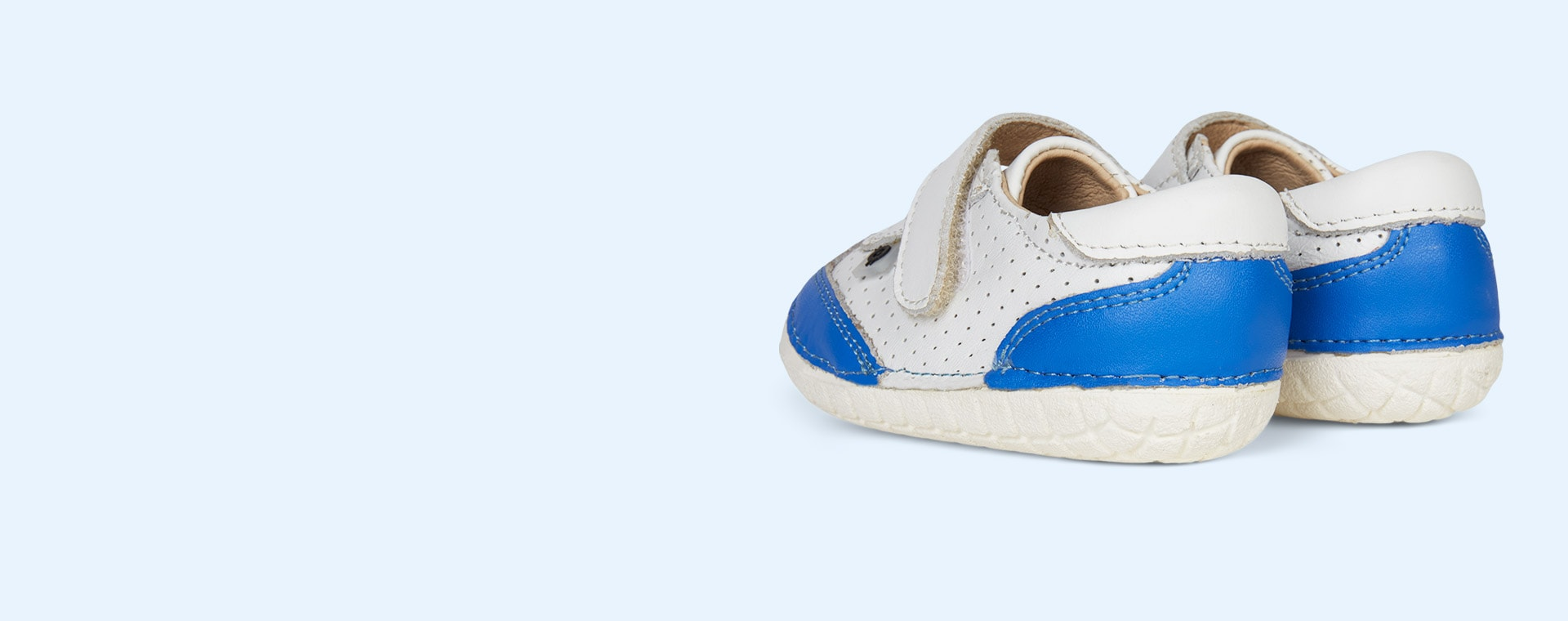 Blue old soles Prize Pave First Trainer