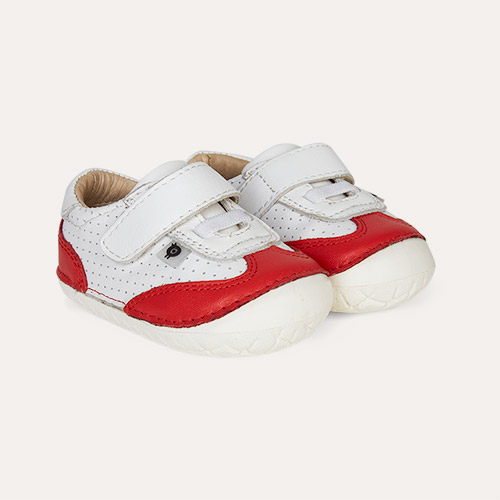 Red old soles Prize Pave First Trainer