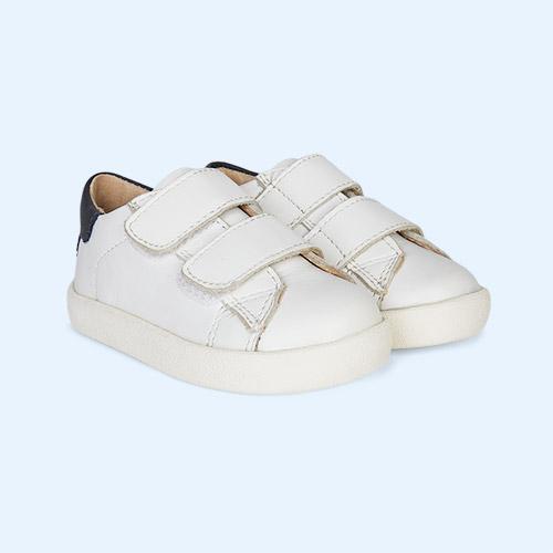 Snow/Navy old soles Toddy Shoe