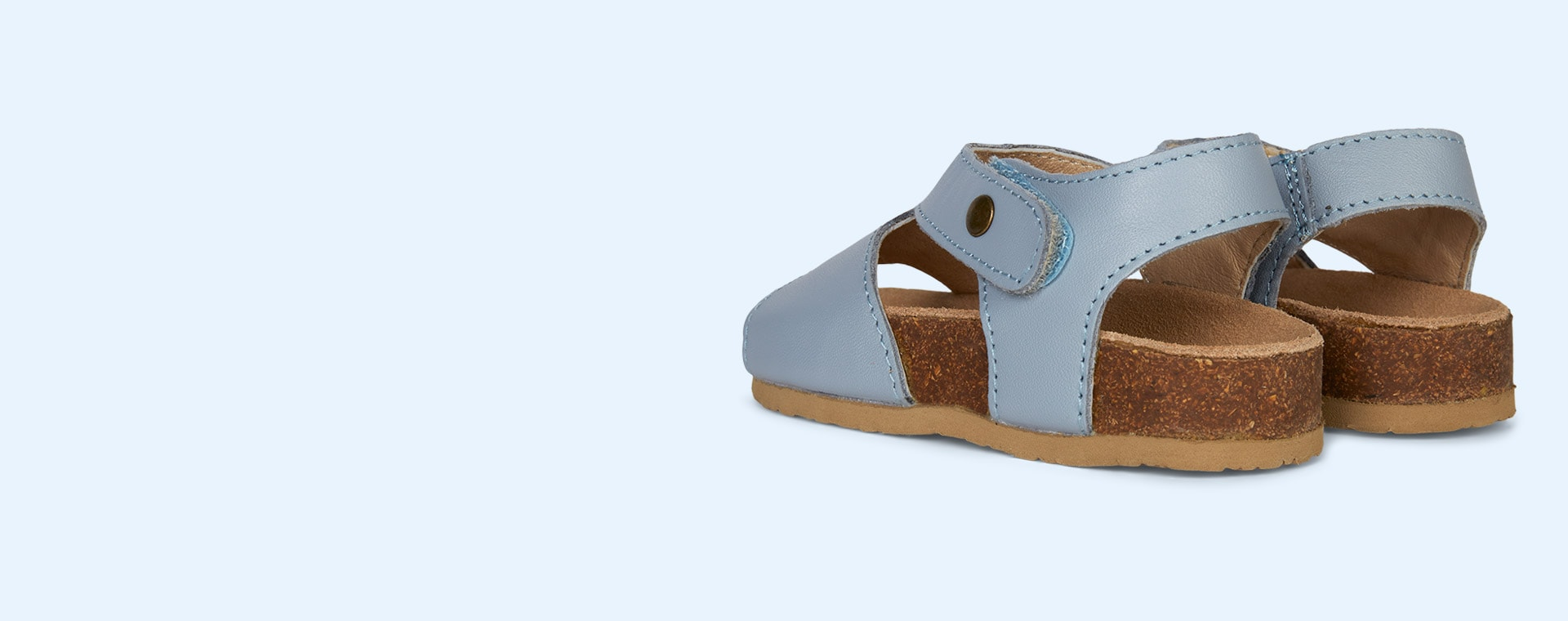 Dusty Blue old soles Digger Sandal