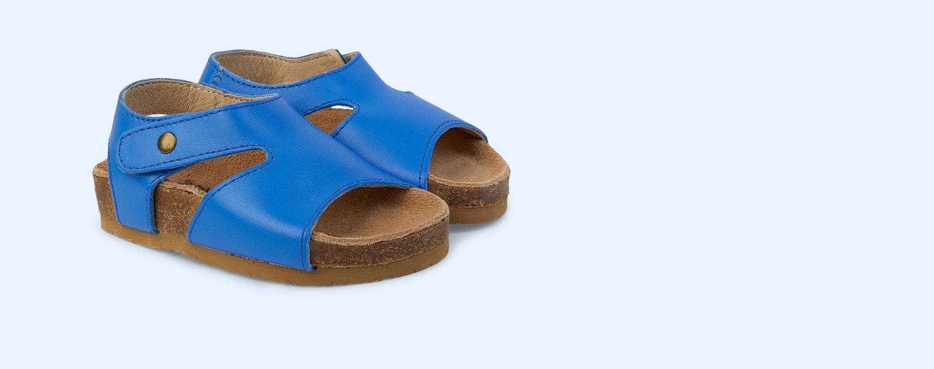 Neon Blue old soles Digger Sandal