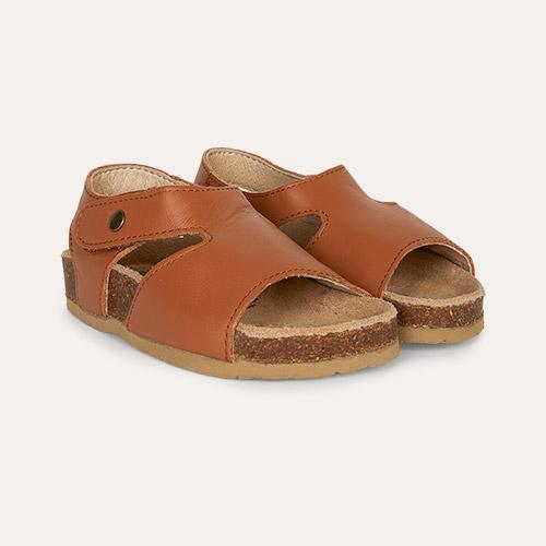 Tan old soles Digger Sandal