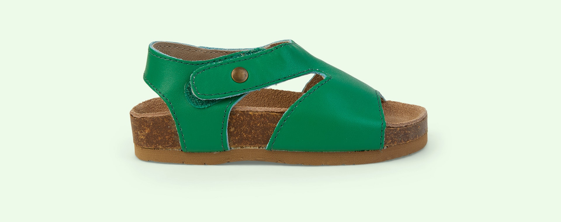 Neon Green old soles Digger Sandal