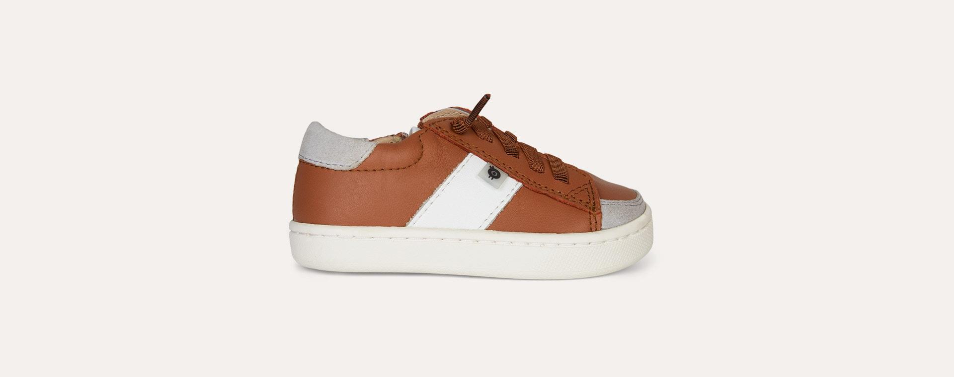Tan old soles High Street Shoe