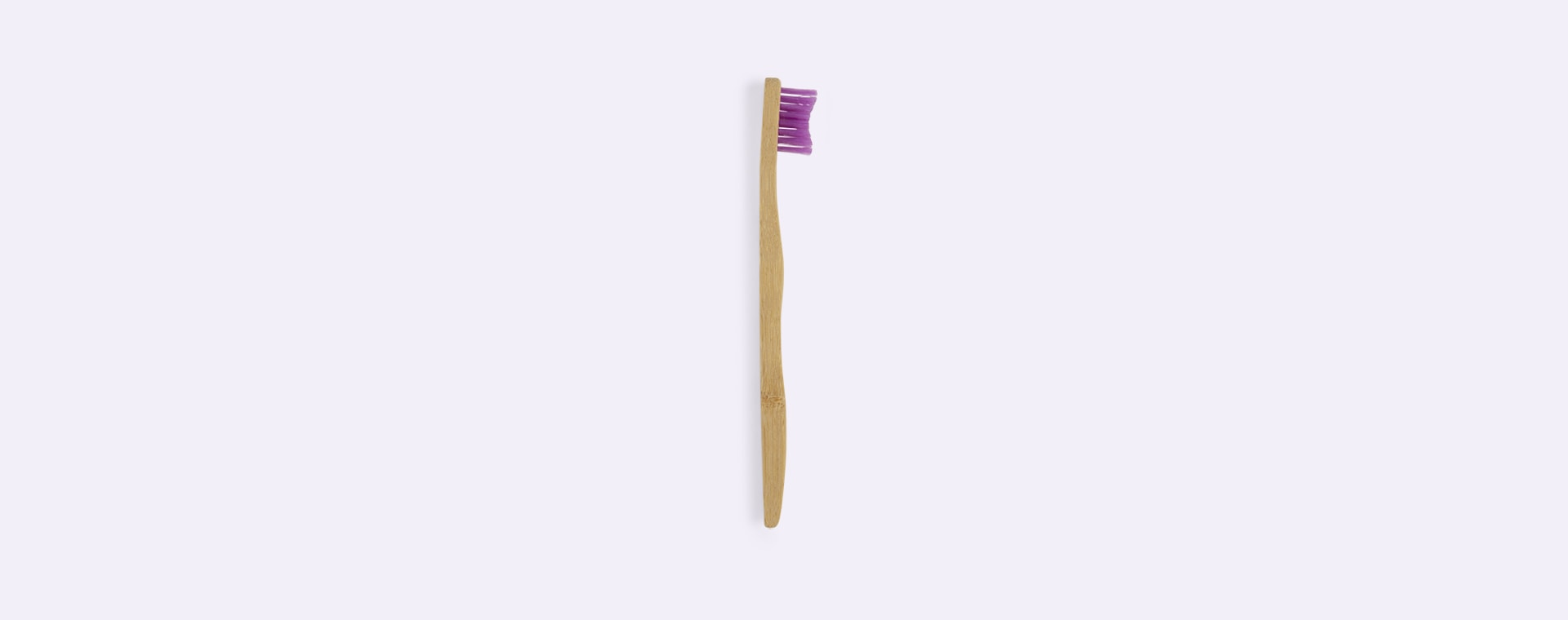 Purple The Humble Co. Toothbrush